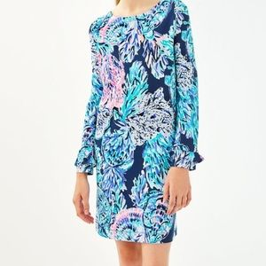 NWT Lilly Pulitzer girls mini Sophie ruffle dress